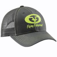 Neon Green Logo Hat - Graphite H1776
