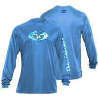 Water Logo Performance Tee Carolina Blue TL1405B