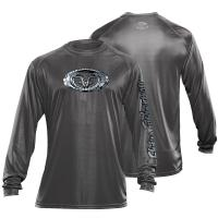 Fish Scales Performance Tee Graphite TL1406G