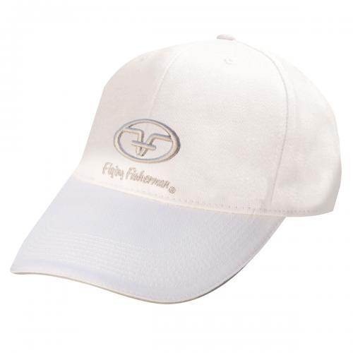 Cotton Logo Cap - White H1502