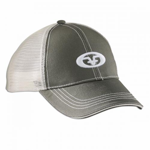 Logo Trucker Cap - Moss/Stone H1504