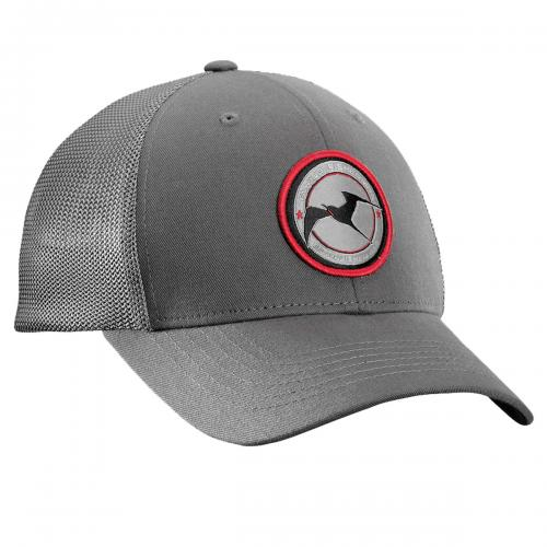Early Bird Fitted Trucker Hat - Charcoal H1716