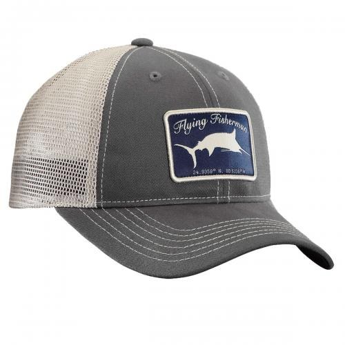 Marlin Trucker Hat - Graphite/Stone H1720