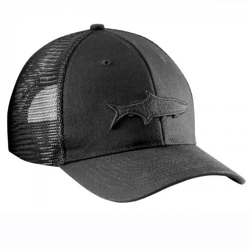 Tarpon Shadow Trucker Hat Black H1783