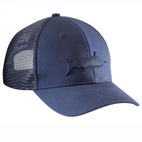 Marlin Shadow Trucker Hat Navy H1785