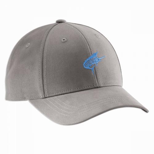 Dockmaster Sailfish Hat - Graphite H1791
