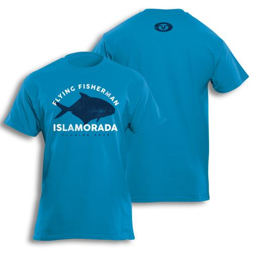 Permit Tee Turquoise Blue T1719T