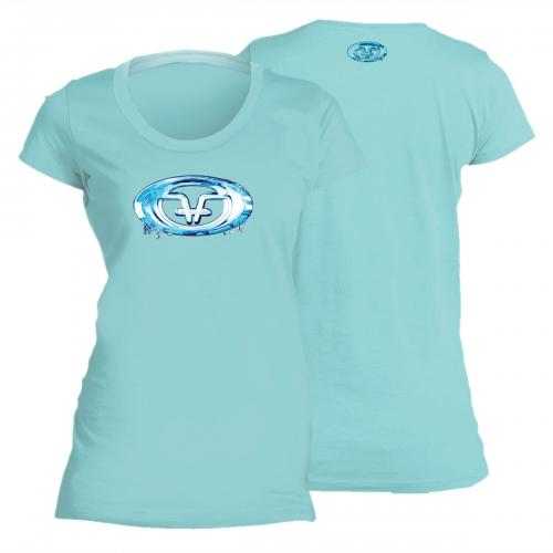 Water Logo Ladies Tee Chill T1708C
