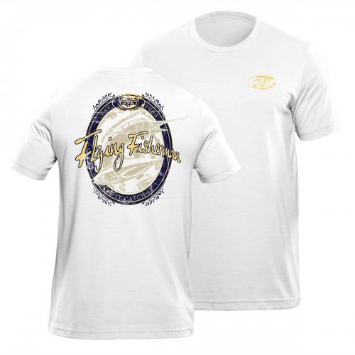Beer Label Tee White T1711W