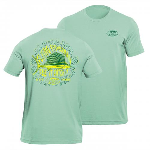 Chalk Sailfish Tee Mint T1712M