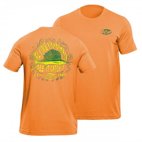 Chalk Sailfish Tee Orange T1712O