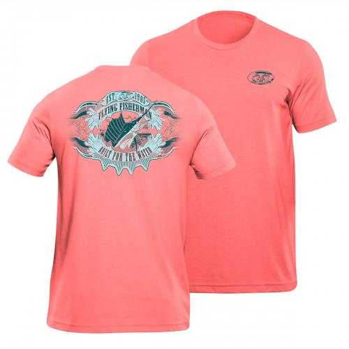 Cigar Label Tee Coral T1713C