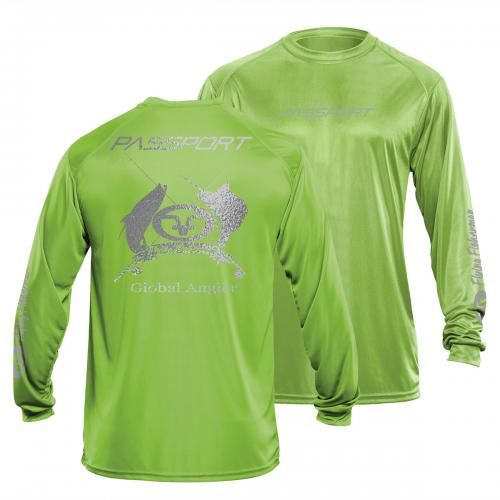 Passport L/S Performance Tee Lime TL1400L