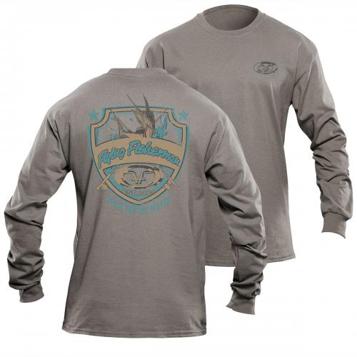Shield L/S Tee Gray Triblend TL1710G