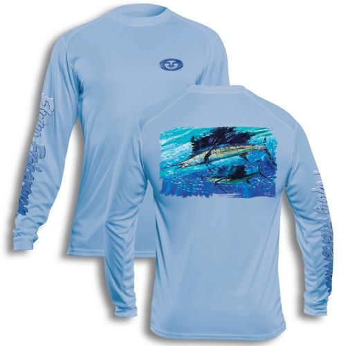 Pasta Sailfish Performance Tee Blue TL1410B