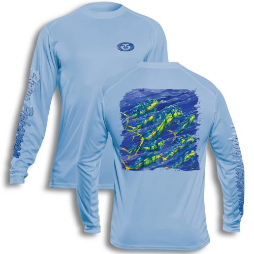 Pasta Mahi Performance Tee Blue TL1411B