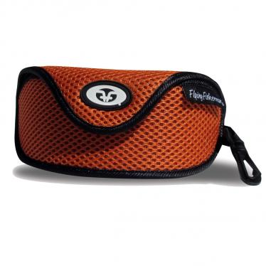 Orange Mesh Sunglass Case 7603