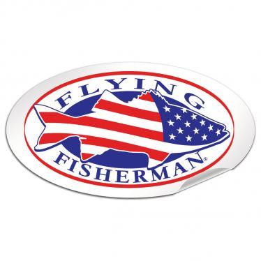 Flying Fisherman American Striper Decal POP-05