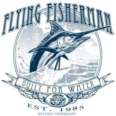 Flying Fisherman Traditions Marlin Decal POP-03