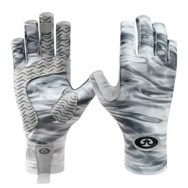 Sunbandit® Pro Series Gloves Gray Water G2205