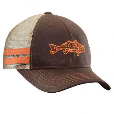 Redfish Trucker Hat - Chocolate/Khaki H1730