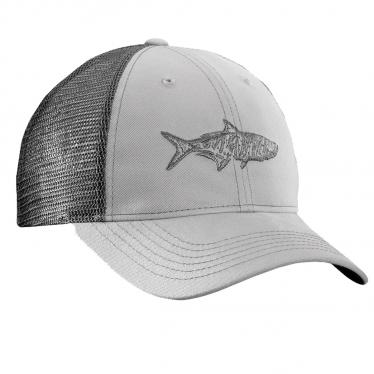 Tarpon Trucker Hat - Gray/Charcoal H1736