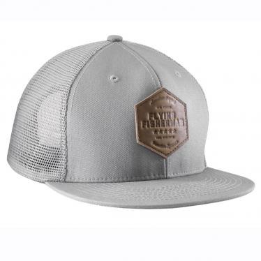 American Original Flat Bill Hat Gray H1780