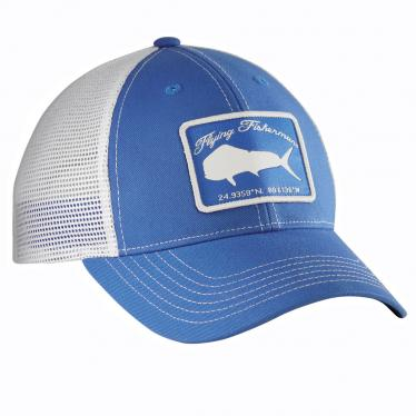 Mahi Trucker Hat - Blue/White H1766