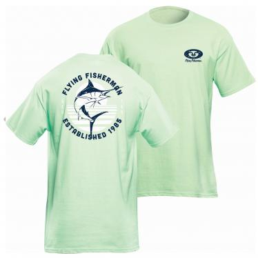Marlin Sunset Tee Mint T1717M