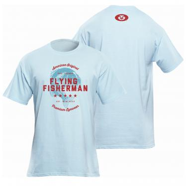 American Original Tee Light Blue T1718B
