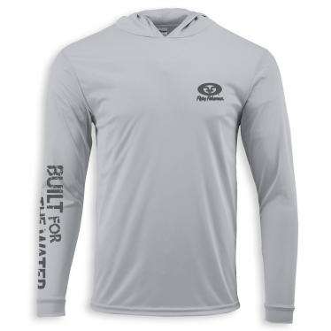 Built for Water Performance Hoodie Tee Silver TL1415S